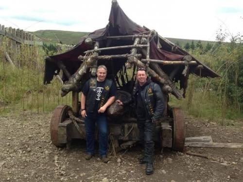 Founding Members A Rankin & I Rennie @ Duncarron - 2014